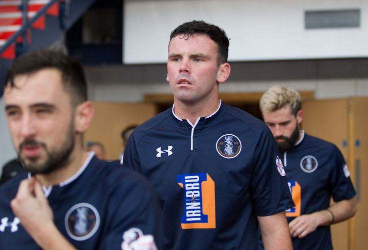 Queen's Park's Kevin Green before the Betfred Cup game between Queen's Park and Edinburgh City