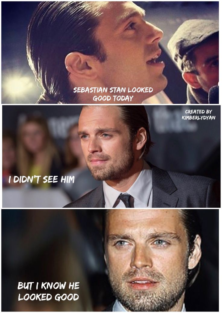 Sebastian ⭐️ Stan looked good today created by Kimberlydyan