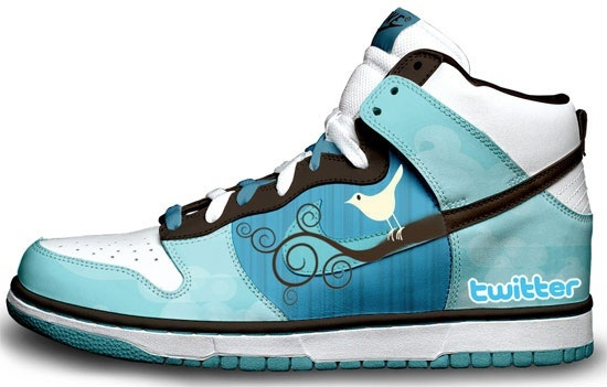 Twitter shoes. Ok, I'm not that addicted ;)