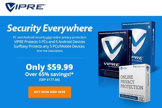 VIPRE Internet Security Bundle - Security Everywhere