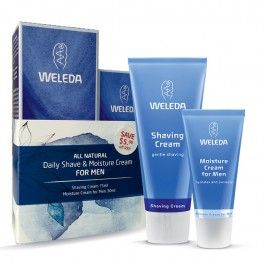 Weleda Daily Shave and Moisture Cream Pack