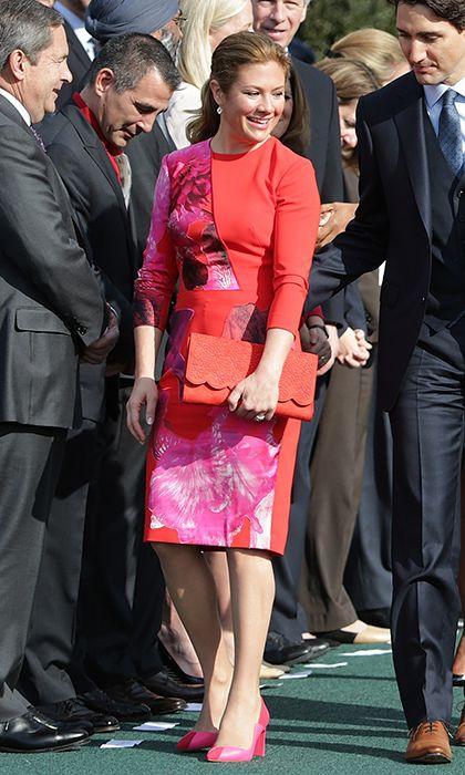 Sophie Grégoire Trudeau's best style moments - HELLO! CA