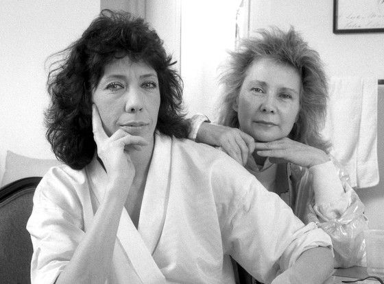 Congratulations to Lily Tomlin and Jane Wagner.  After 42 years together, they married on New Year's Eve.