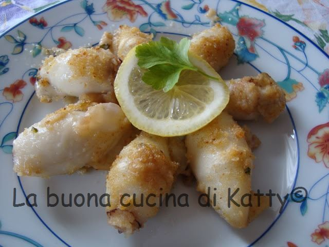 La buona cucina di Katty: Calamari alla griglia - grilled squid