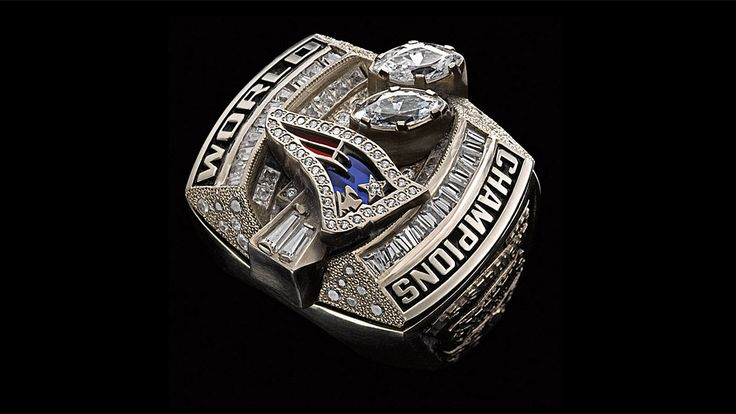 Super Bowl rings: Check out the championship bling from every winner. 2003 New England Patriots