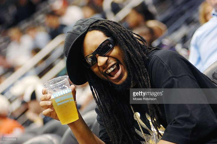 Lil Jon during Celebrity Sightings at Atlanta Hawks vs Seattle Supersonics - November 11, 2006 at Philips Arena in Atlanta, Georgia, United States.
