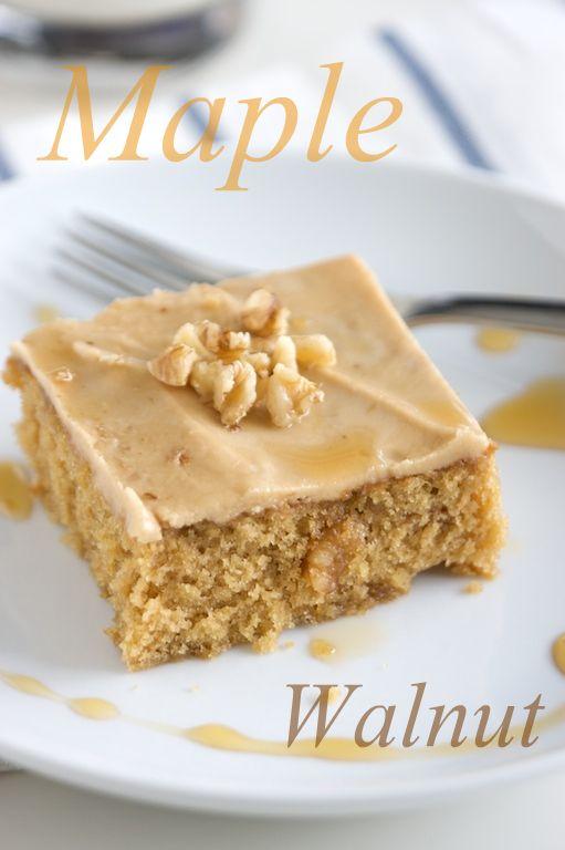 maple cake words
