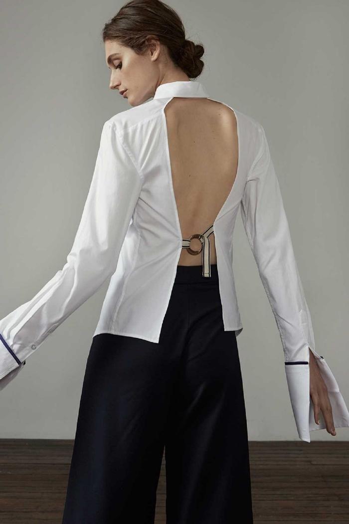 ANNA QUAN - the Forte shirt