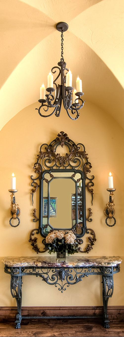 Old World Mediterranean Italian Spanish Tuscan Home Decor Love The Warm Yellow Color
