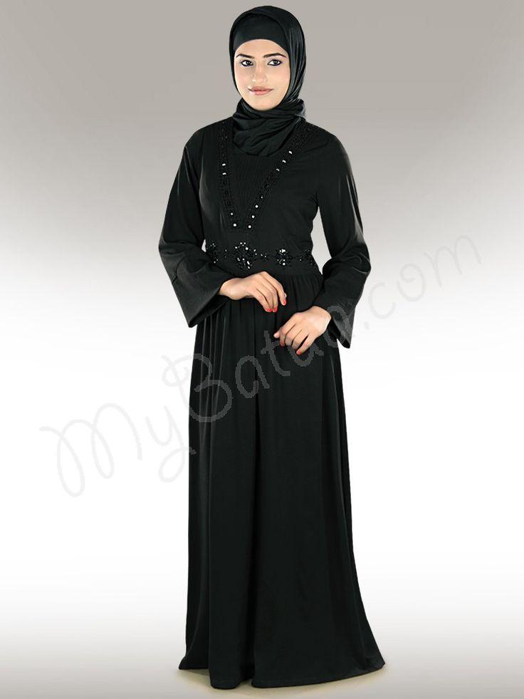 Mahreen Grey Abaya