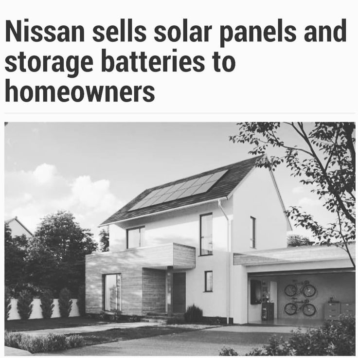Very interesting! Great bit of kit to match up with the leaf. #solar #nissan #ev #greenenergy #evlife #nissanleaf