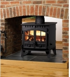 two sided wood burning fireplaces - Google Search