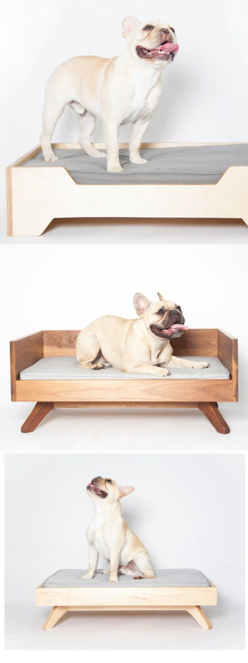 mid century inspired dog beds we are drooling over