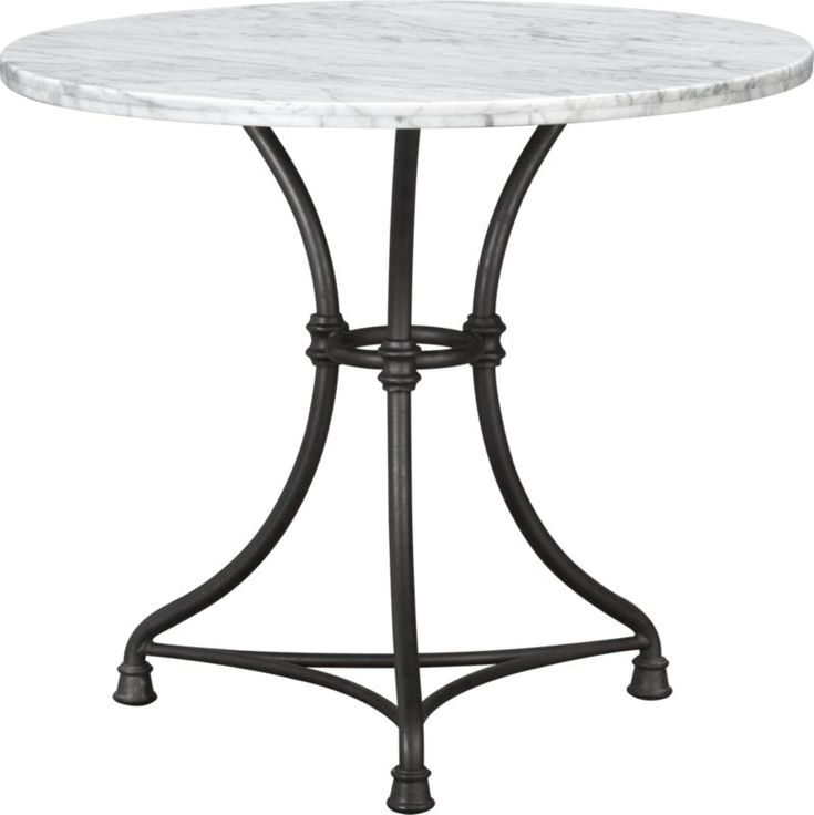 French Kitchen Round Bistro Table  sc 1 st  Pinterest : french bistro table set - pezcame.com