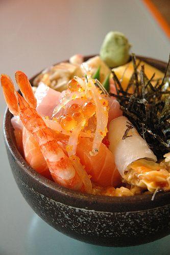 #Sashimi don. #japanese #food. Beso de Vino