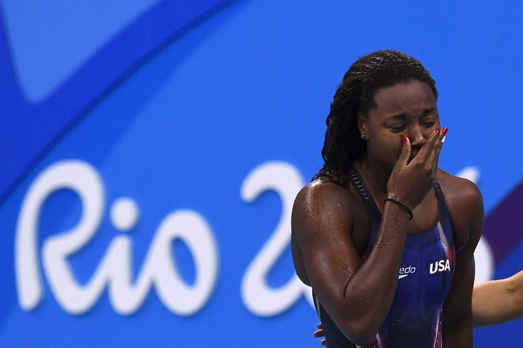 Simone Manuel Wins Gold, Makes History