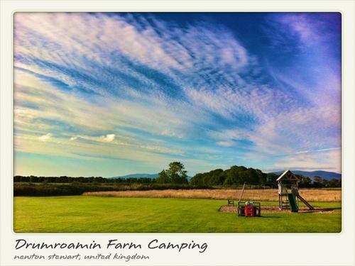 Family Friendly: Drumroamin Farm Camping  - Newton Stewart, United Kingdom