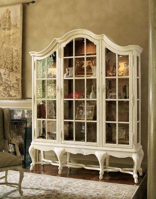 Wonderful French glass cabinet.-.French furniture comprises both the most sophisticated furniture made in Paris for king and court, aristocrats and rich upper bourgeoisie, on the one hand, and French provincial furniture made in the provincial cities and towns many of which, like Lyon and Liège, retained cultural identities distinct from the metropolis.