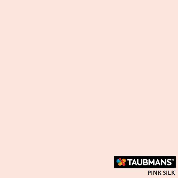 #Taubmanscolour #pinksilk