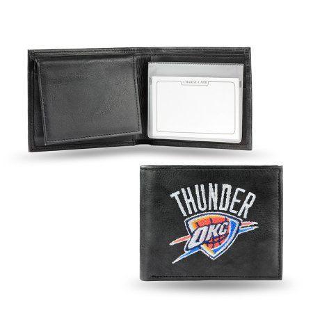 NBA Licensed Embroidered Billfold, Oklahoma Thunder, Multicolor
