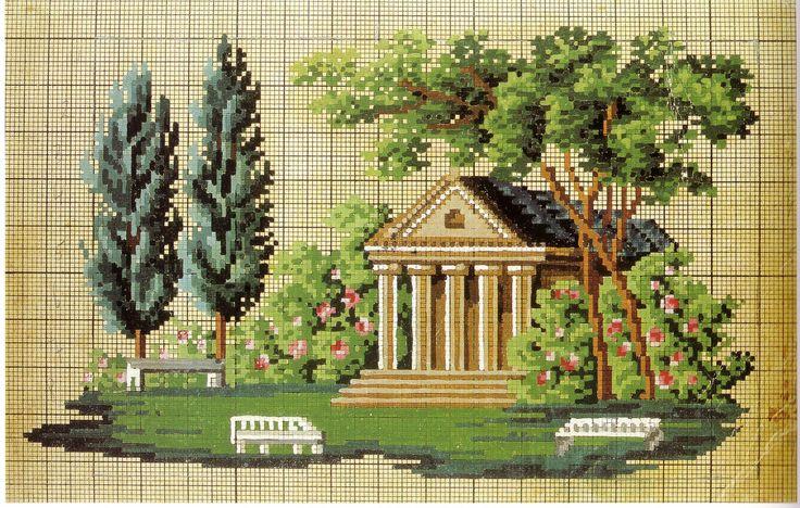 Classical garden folly