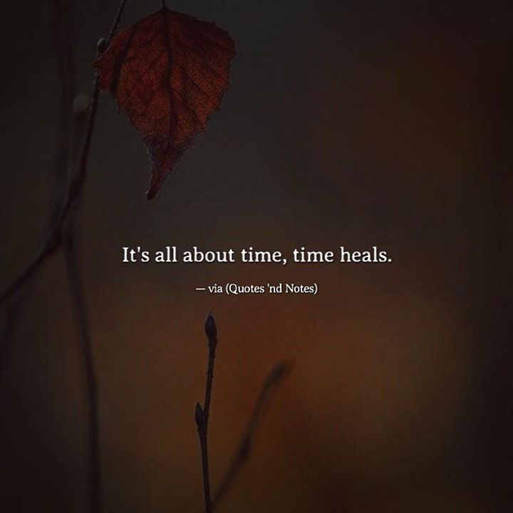 It's all about time time heals. via (http://ift.tt/2ldiNdd)