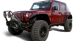 Jeep Lifts Kits & Jeep Suspensions