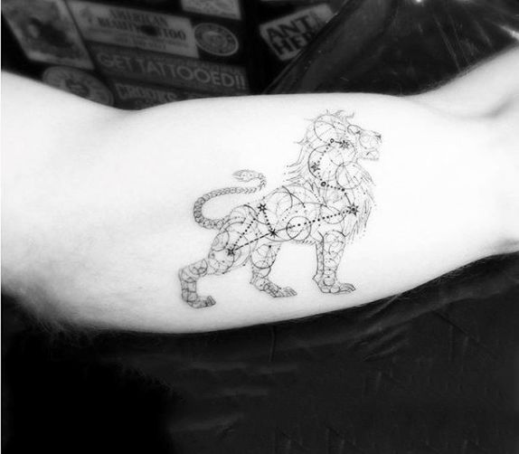 Ideas About Leo Constellation Tattoo On Pinterest