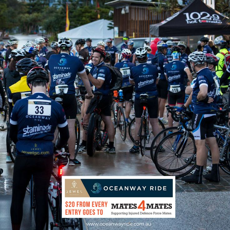 As part of our support for Mates4Mates at this year's Jewel Residences Oceanway Ride, we are donating $20 for every entry paid to this valuable service. If you haven't already heard of Mates4Mates, take a moment to look at what they do and head on over to our website to register your entry to ride and help support their cause.