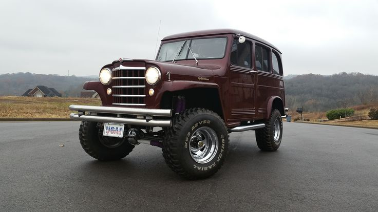 My 1951 Willys Overland Wagon.  Powered by a Chevy 350.  Lifetime Man Card.
