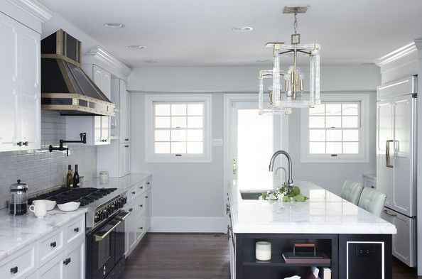 AFTER - Before + After: A Glamorous Kitchen Renovation - Lonny