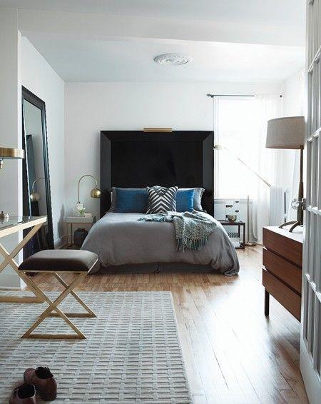 Une chambre aérée et lumineuse