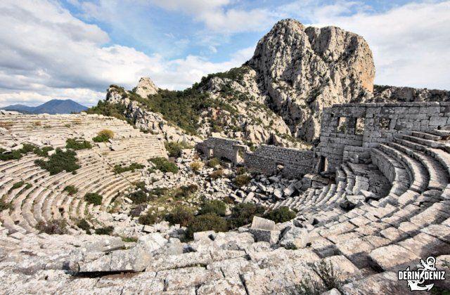 Termessos is an ancient Pisidian city built at an altitude of more than 1000 meters at the south-west side of the mountain Gulluk in Antalya province, Turkey., Termessos - Places to visit - Antalya, Aperlae, Bodrum, Dalyan, Datça, Demre, Fethiye, Finike, Gokova, Kaunos, Knidos-Cnidus, Loryma, Lydia, Marmaris, Myra, Oludeniz, Olympos, Saklikent, Sedir Island, Telmessos, Termessos, Tlos, Xanthos,