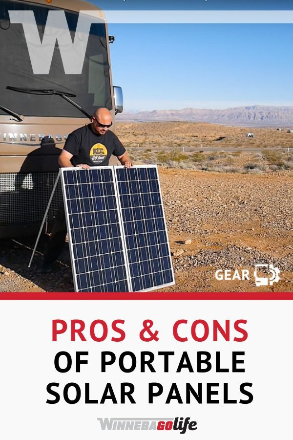 Pros Cons Of Portable Solar Panels Compared To Rooftop With Images Portable Solar Panels Rv Solar Power Solar Panels