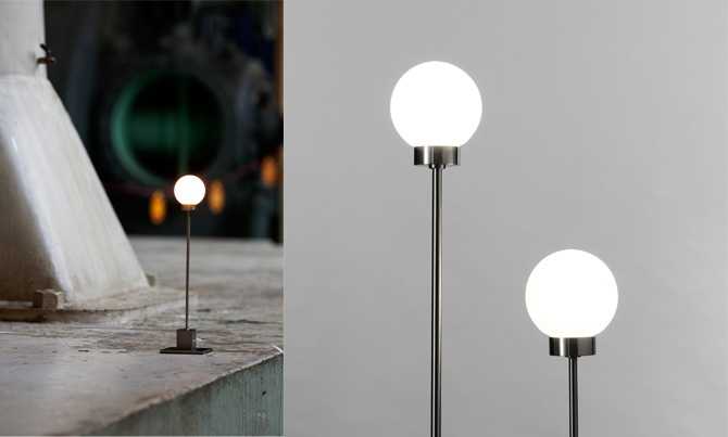 The Snowball lamp from Northern Lighting gives off intimate light and has adjustable height. Find out more information about this lamp at www.northernlighting.no. #Nordic #Scandinavian