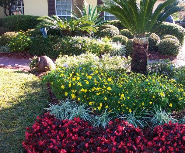 central florida landscape photos burst of colors combined with a mix of exotic plants was - Florida Landscape Design Ideas