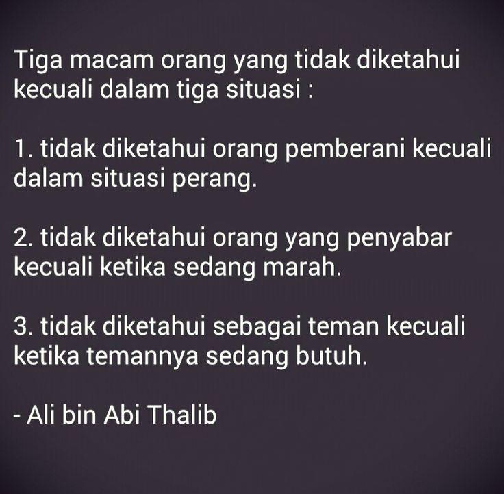 Kutipan Islam - Ali bin Abi Thalib