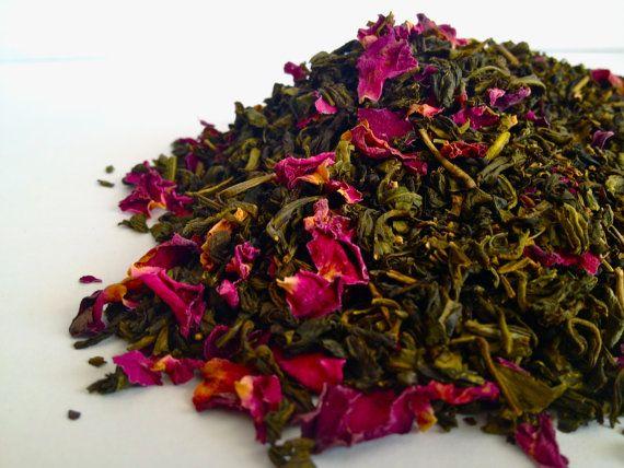 Jasmine Rose Tea by TeaHoundsTeaCo on Etsy, $6.25