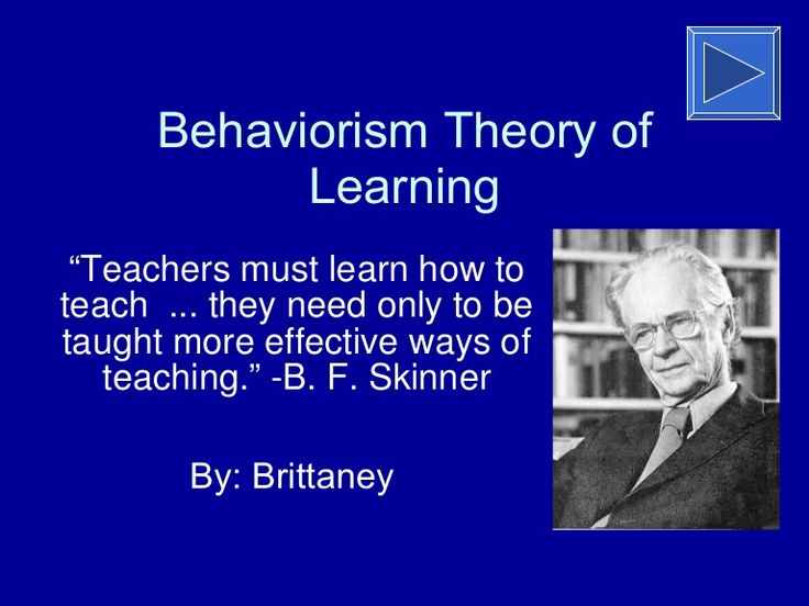 learning theory based on behaviorism Piaget was the first psychologist to make a systematic study of children's cognitive development piaget's theory included four distinct stages of development: the sensorimotor stage, from birth to age 2 the preoperational stage, from age 2 to about age 7 the concrete operational stage, from age 7 to 11, and.