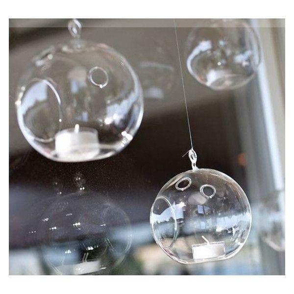 Les 25 meilleures id es de la cat gorie boule en verre sur pinterest boule de verre - Boule verre suspendu ...