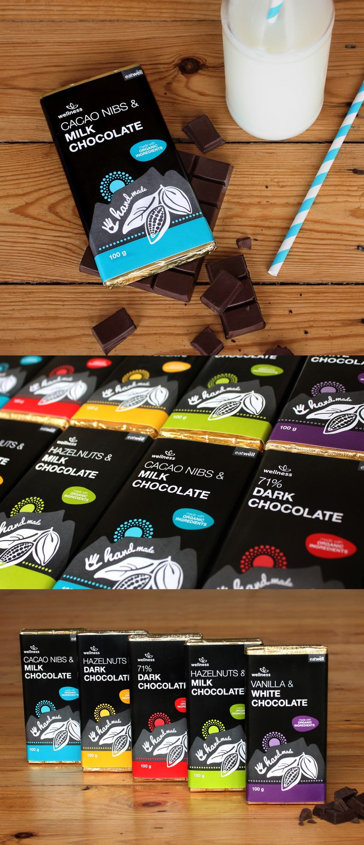 Wellness Warehouse Organic Chocolate by Creating a Storm
