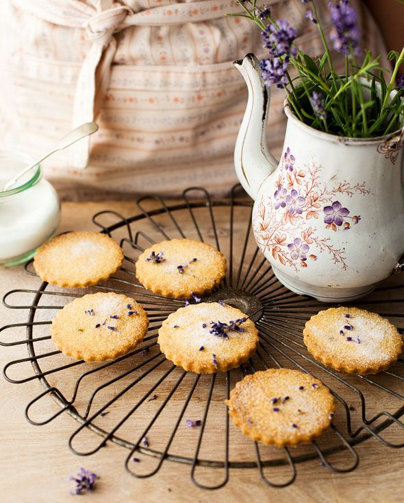 Lavendar biscuits by Miranda Gore Browne | ♨ Calories, Calories ...