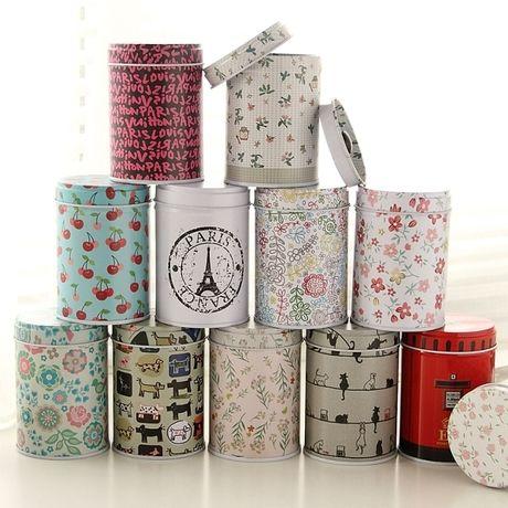 Японский ZAKKA ленивый углу портативный мини чай жестяные банки запечатанные хранения банку конфеты банку 33820 - Taobao