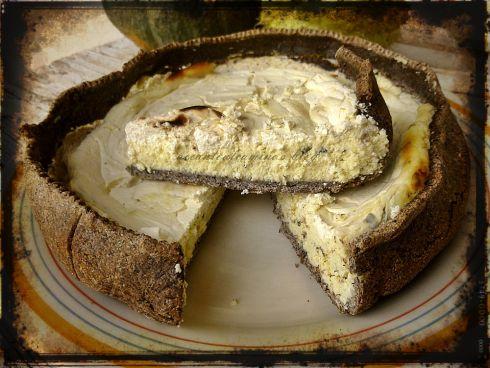 torta salata di grano saraceno e ricotta