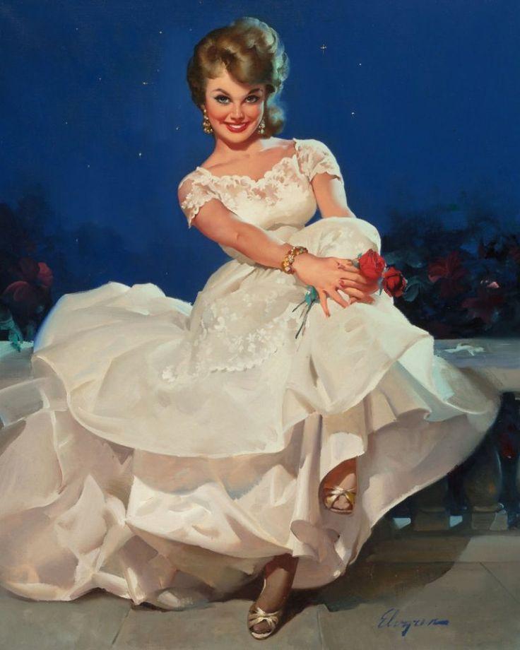Открытка красавица невеста