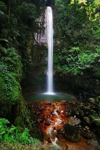 Curug Seribu Waterfall, Bogor, West Java, Indonesia