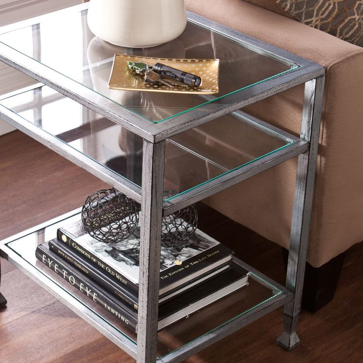 1000 Ideas About Glass End Tables On Pinterest End