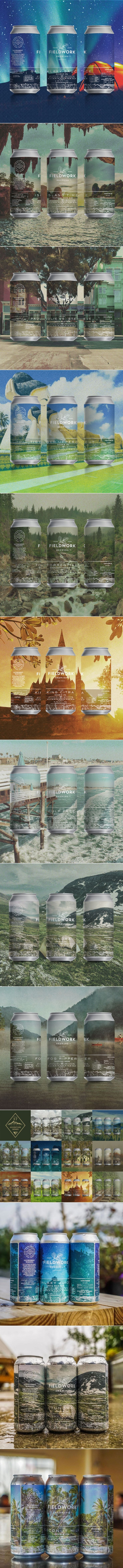 Around the World in Ten Months with Fieldwork Brewing Company — The Dieline | Packaging & Branding Design & Innovation News