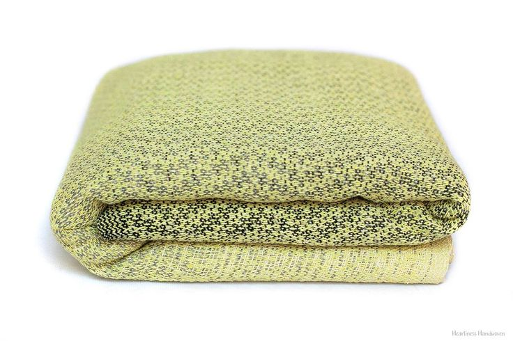 Heartiness crackle Day and Night Lemon Wrap (tsumugi silk)