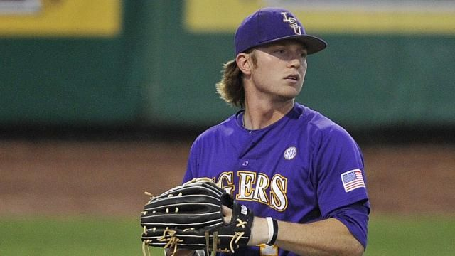 #LSU outfielder Raph Rhymes is the 2012 #SEC Baseball ...